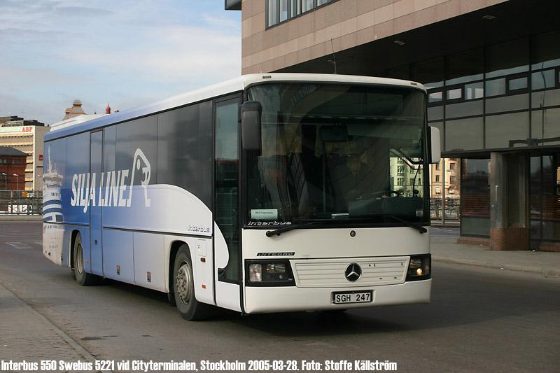 stockholm city terminal bus